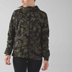 Lululemon Rise & Shine Jacket II Camo